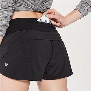 Lululemon Speed Shorts|Size 6